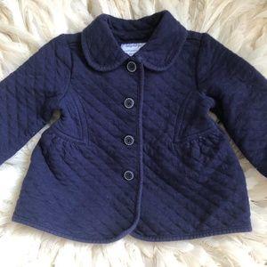 Gymboree Toddler Girls 12-24 M Navy Blue Jacket